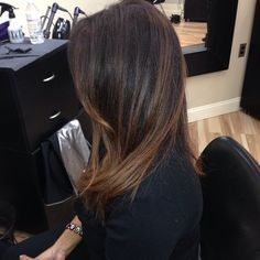 Brown with soft highlights