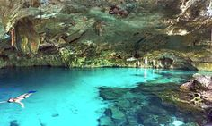 Picture of Cenote Sas ka leen Ha (One of the Top Cenotes in the Riviera Maya)