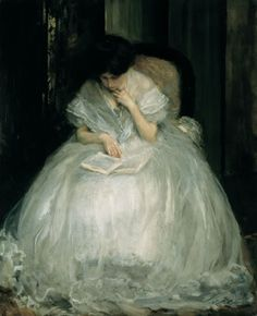 Jacques-Emile Blanche -1898 -Lucie reading  January 28th, 2007 - Pinacotheca Petri Plancii