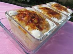 Goxua (dulce Vasco) Crazy Cakes, Creme Brulee, Empanadas, Lasagna, Macaroni And Cheese, Dinner Recipes, Pork, Food And Drink, Pudding
