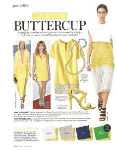 Color Crash Course: Buttercup #instyle