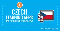 Get the Top 3 Apps; download them for FREE at CzechClass101. Learn Czech Apps available for the iPhone, iPad and Android. Learn the language with fun and easy lessons.