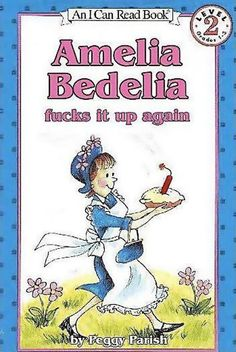 Come on Bedelia, get it together...