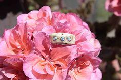 Meredith / Bones, Swarovski, Flowers, Plants, Handmade, Hand Made, Plant, Royal Icing Flowers, Flower