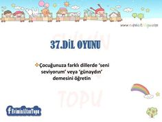 çocuklar için oyun önerileri Home Activities, Infant Activities, Tough Love, Drama, Special Education, Games For Kids, Montessori, To My Daughter, Preschool