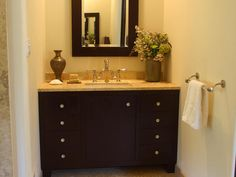 I want a similar cabinet to use for powder bath - I already have the perfect handmade sink from Mexico... can't wait till the project is finished!