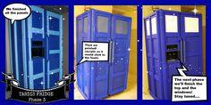 TARDIS FRIDGE Phase 3 by sarahredhead.deviantart.com on @deviantART