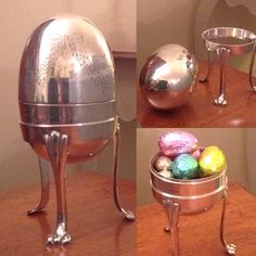 #HappyEaster lovely silver plate egg