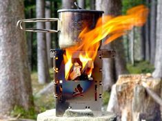 Faltbarer Campingkocher Bushbox LF - The Chill Report Outdoor Kocher, Bushcraft Essentials, Product Tester, Steel Wall, Outdoor Activities, Tour, Chill, Engineering, Kaffee