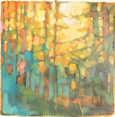 Olivia Pendergast (born in Florida; based in Seattle, WA) aka Holly Mae (Holly is her initial name). Landscape Art, Landscape Paintings, Art Paintings, Creation Art, Tree Art, Painting Techniques, Painting Inspiration, Watercolor Art, Cool Art