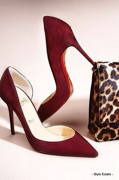 Take a walk on the wild side. - 32 Gorgeous Louboutins That You Absolutely MUST See! #Louboutin - Style Estate -