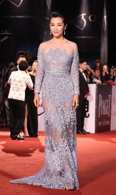 Fabulously Spotted: Li Bingbing Wearing Elie Saab Couture - The 50th Golden Horse Awards - http://www.becauseiamfabulous.com/2013/11/li-bingbing-wearing-elie-saab-couture-the-50th-golden-horse-awards/
