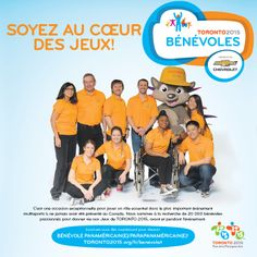We are looking for volunteers to help us deliver a great TORONTO 2015 Pan Am / Parapan Am Games. View current opportunities or get involved at Games time. Toronto, Site Web, Jouer, Places To Visit, Games, Program Management, Gaming, Plays, Game