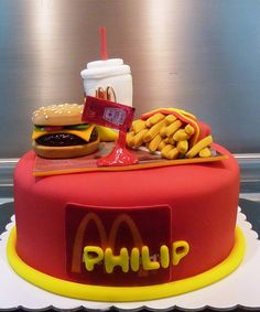 mc donald's cake | Flickr - Photo Sharing!