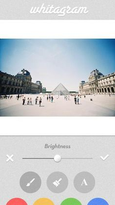 With Whitagram, prized photos are easily shared in all their rectangular glory on a white background.