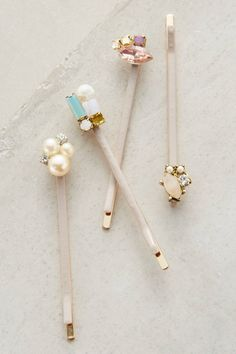 at anthropologie Linnet Bobby Set Headband Hairstyles, Pretty Hairstyles, Updo Hairstyle, Wedding Hairstyles, Cute Jewelry, Hair Jewelry, Jewelry Art, Hair Accessories For Women, Jewelry Accessories