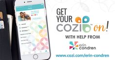 Cozi, styled by Erin Condren Have you heard? Cozi Family Organizer is now available with the signature Erin Condren look! Get organized on the go and in style with Cozi, styled by Erin Condren. #promotion