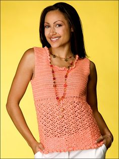 Camisole Top a free crochet pattern