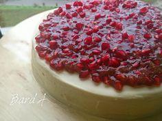 طريقة عمل كيك الرمان - Delicious pomegranate cake recipe