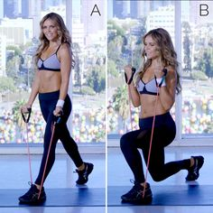 Best resistance band workouts! Tone It Up Tuesday!!