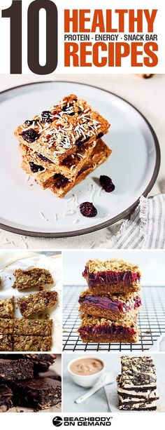 Find your favorite new Beachbody bars recipe. Healthy protein bars, energy bars, and snack bars. healthy snack recipes // best protein bar recipes // 21 Day Fix recipes // 21 Day Fix // Beachbody // h Healthy Protein Bars, Protein Bar Recipes, Snack Recipes, Breakfast Recipes, Healthy Recipes, Bariatric Recipes, Skinny Recipes, High Protein, Diabetic Snacks