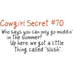 Cowgirl Secrets