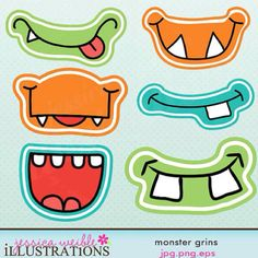 "for a ""photo booth"" - monster party Monster Party, Monster Birthday Parties, Birthday Party Favors, Birthday Decorations, 3rd Birthday, Cute Monsters, Little Monsters, Monster Face, Photo Booth Props"