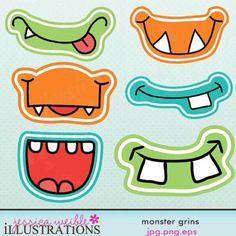 bocas de mostruos