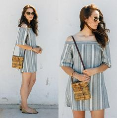 Off the shoulder tops and dresses are everywhere now with the arrival of Spring and I am super into it!   http://www.shared.style/styles/casual-everyday/off-the-shoulder