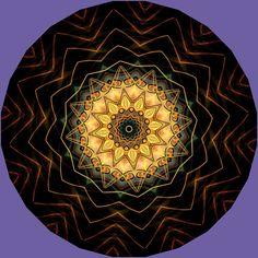 propagation des vagues de l'esprit ; propagação das ondas da mente; propagation of the waves of the mind; propagación de las ondas de la mente; propagare a undelor minții; Mandala de Pierre Vermersch