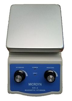 Analog Laboratory Magnetic Stirrer Hotplate, 12cm x 12cm (~5x5inch) with Free Stirring Rod and Supporting Clamp (SH-2)