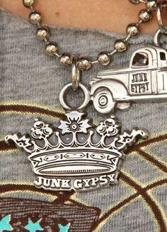 JUNK GYPSY CROWN PENDANT - Junk GYpSy co.