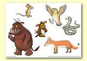 The Gruffalo's Child Book Resources - Storyboard / Cut & Stick