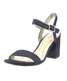 5aa701803f13f3 CIRCUS BY SAM EDELMAN CIRCUS BY SAM EDELMAN ASHTON WOMEN OPEN TOE CANVAS  BLUE SANDALS.  circusbysamedelman  shoes