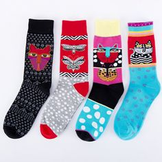 12 Pairs Ladies Socks Tropical Fruit Designs Exquisite Elegance Comfortable 4-8