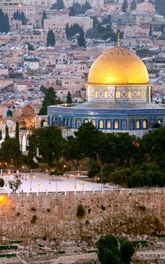 Beautiful Mosques, Beautiful Places, Jesus Background, Terra Santa, Masjid Al Haram, Karbala Photography, Dome Of The Rock, Building Painting, Islamic Architecture