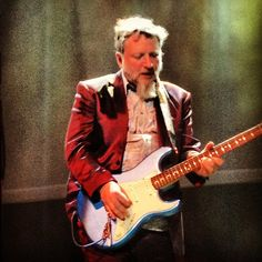 Glenn Tilbrook from @squeezeofficial tonight at @fillmoresf w @meganslankard ope