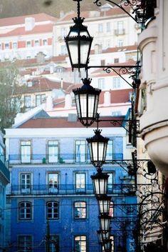 Lisbon by Rebecca Plotnick. Repinned from Design 351