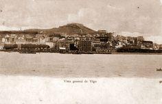Vigo, co Castro ao fondo