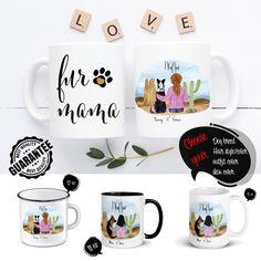 Dog Mom Gifts, Dog Lover Gifts, Dog Lovers, Gift Mugs, Gifts In A Mug, Moms Best Friend, Cactus Gifts, Customised Mugs, Mom Mug