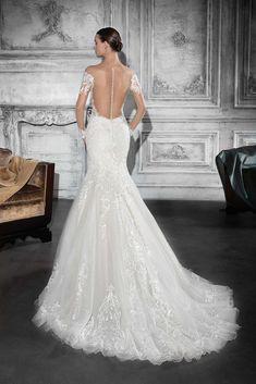 70534e014834 Demetrios Wedding Dress Style 782 Lace Back Wedding Dress, Bridal Wedding  Dresses, Wedding Dress