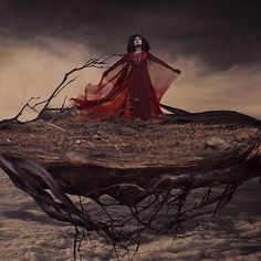 the swift travels of wind-blown sails by brookeshaden, via Flickr