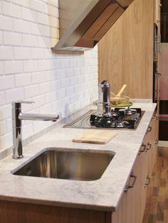 La encimera es de Silestone y queda genial!!! #cocinas #muebles