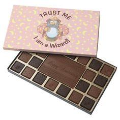 #Wizard with Ball 45 Piece Box Of Chocolates - #Chocolates #Treats #chocolate