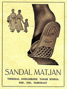 Indonesian Old Commercials:slipper. Vintage Advertising Posters, Old Advertisements, Vintage Travel Posters, Vintage Ads, Vintage Graphic, Vintage Photographs, Vintage Photos, Contemporary Photographs, Old Commercials