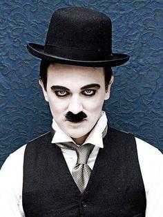 Fantastic Charlie Chaplin Make-up