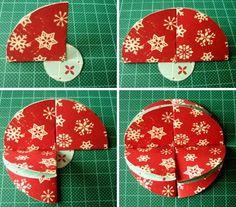 Easy Christmas Ornaments | simple homemade christmas ornaments bauble step 4