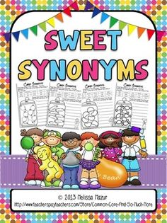 Sweet Synonyms - FREEBIE