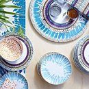 Normally I like only white dishes, but IKEA's got me with these patterns. NEW DINING IDEAS from #IKEA