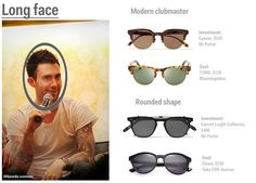 How to pick the right sunglasses - Business Insider Mens Glasses Frames, Lighter Hair, Glass Fit, Tom Ford Men, Square Faces, Long Faces, Mr Porter, Look Cool, Face Shapes